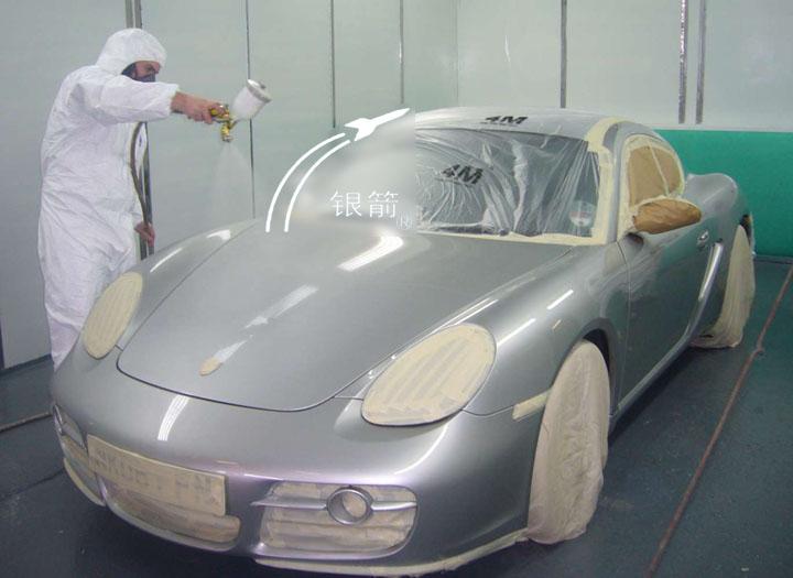 银箭汽车修补漆用铝银浆