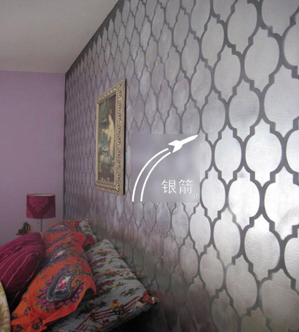 银箭牌水性墙纸用铝银浆